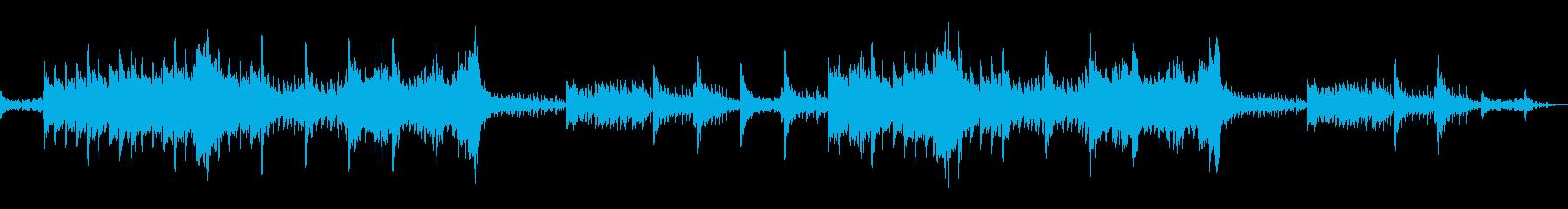 ケルト×和風なファンタジー風BGMの再生済みの波形