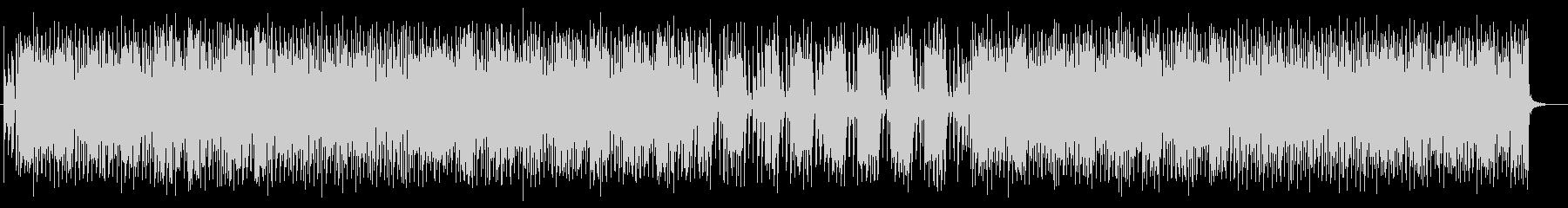 ユニークで愉快なポップミュージックの未再生の波形