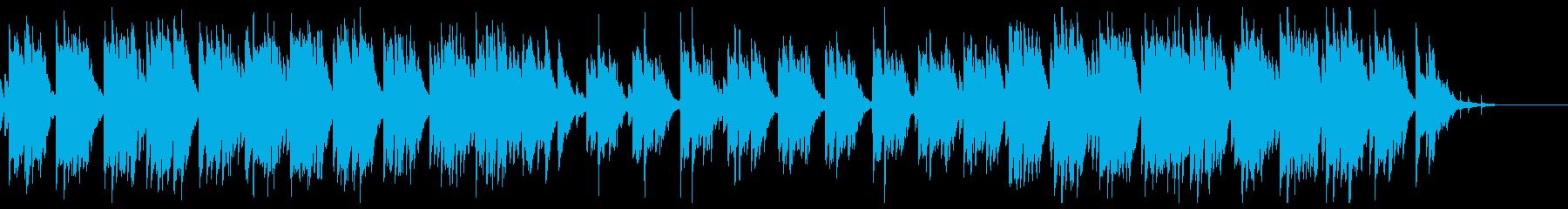 鼓草の再生済みの波形
