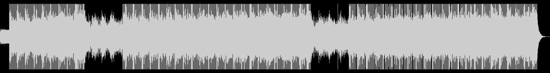 懐かしさを覚えるシンセウェイブの未再生の波形