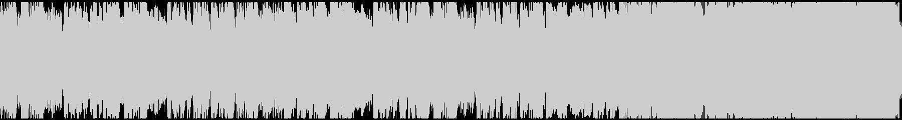 退廃的なメルヘンコーラス(ループ)の未再生の波形