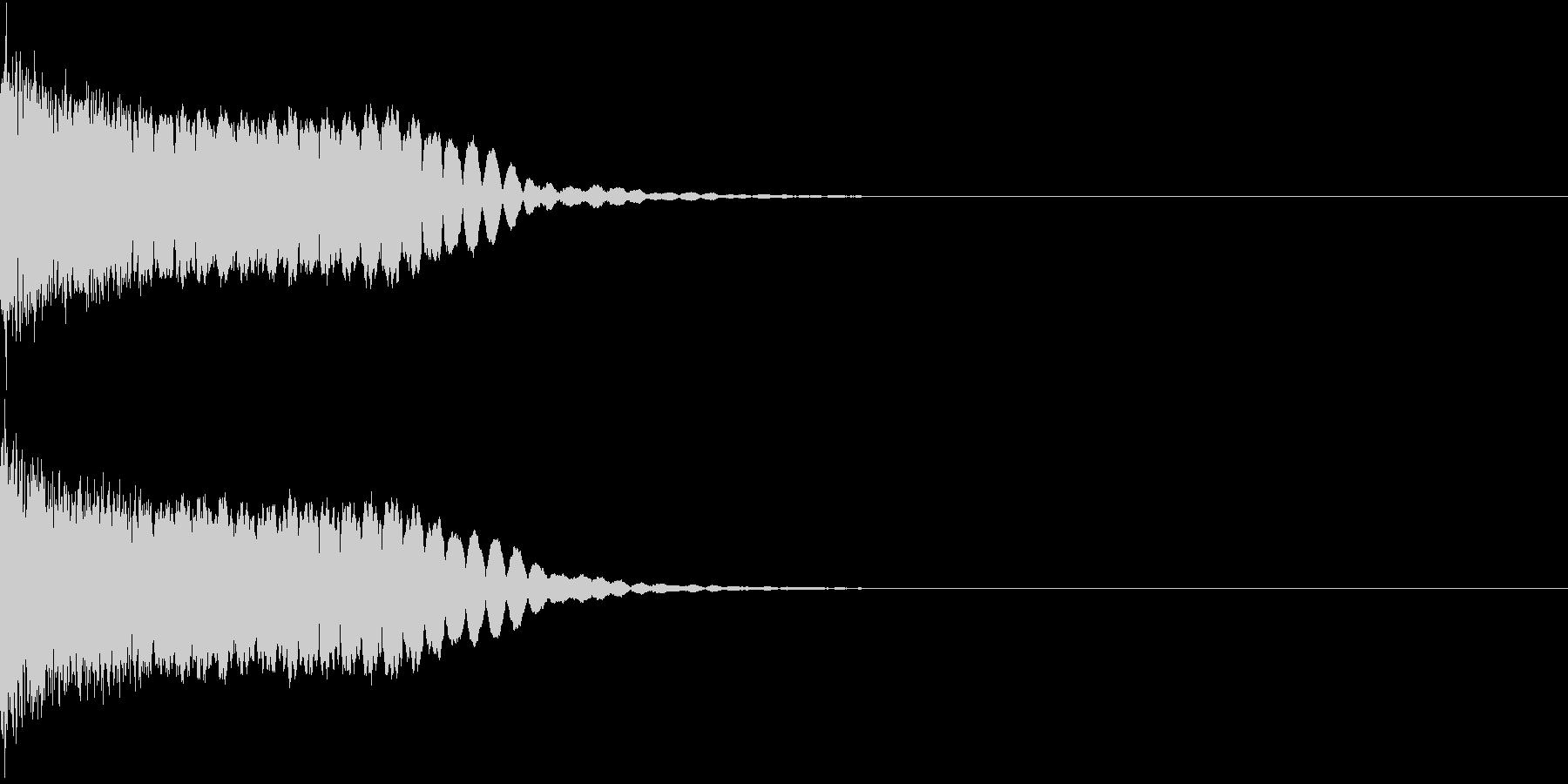光る キラリ キューン 06の未再生の波形