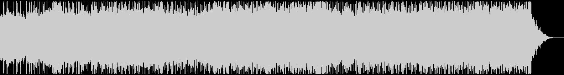 メタルテクノポップ、コミカル、デスボイスの未再生の波形