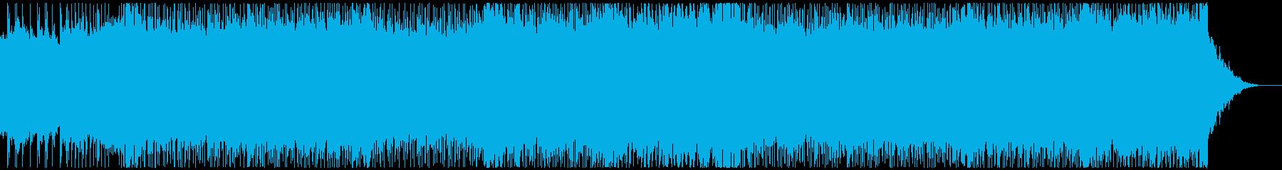 メタルテクノポップ、コミカル、デスボイスの再生済みの波形