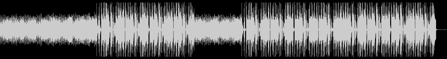 EDMチックなヒップホップの未再生の波形