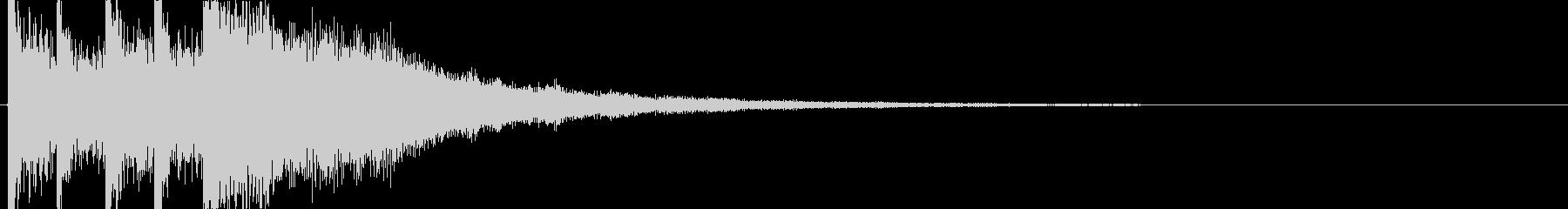 高音質煌めき系ジングル曲可愛くキラの未再生の波形