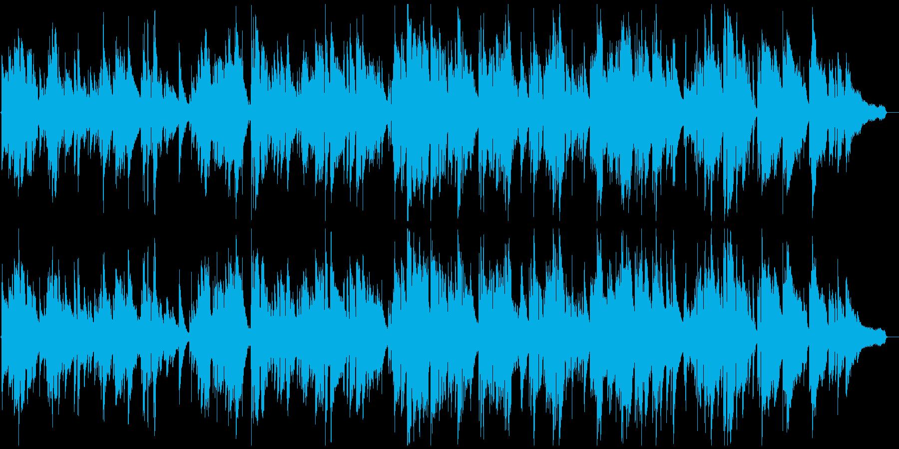まったりリラックス雰囲気のジャズバラードの再生済みの波形