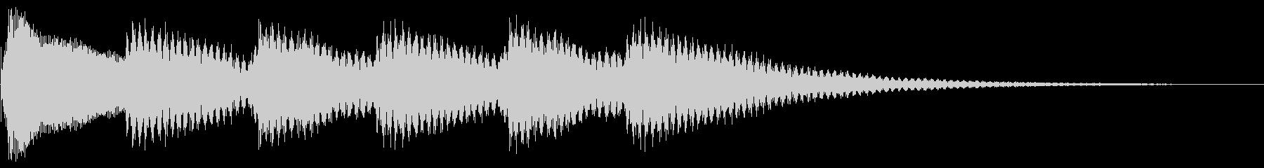 正解 ピンポンの未再生の波形