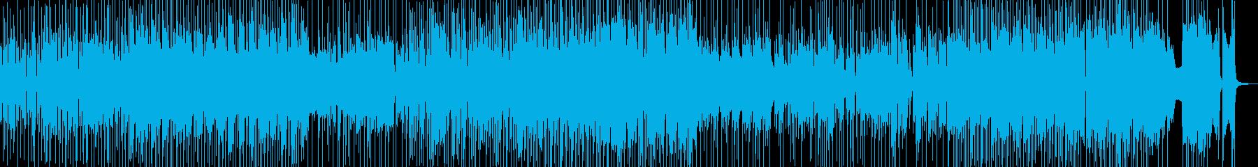 気ままドライブ・まったりしたジャズ 長尺の再生済みの波形