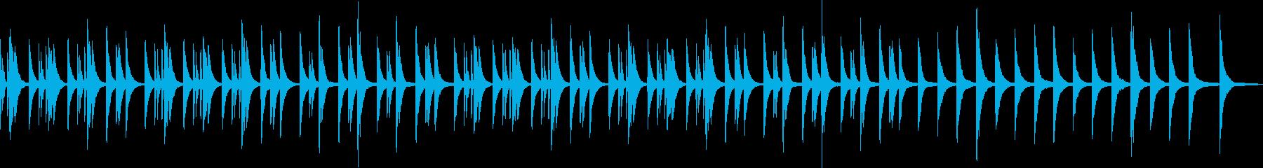 ソロピアノ、アンビエント、ヒーリングの再生済みの波形