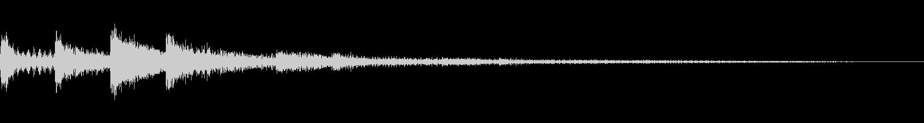 選択・決定音・シンセ2の未再生の波形