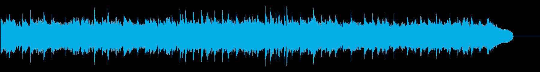 甘く切ないドラマ系ピアノBGMの再生済みの波形