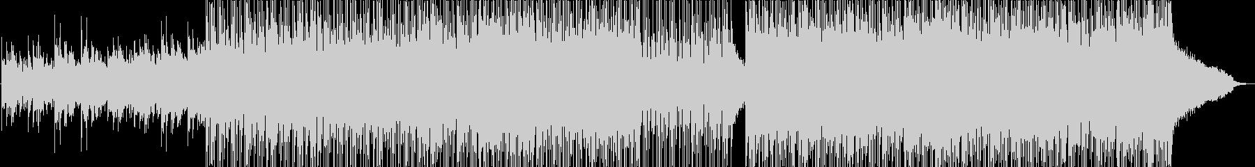 美しいシンセインディロックの未再生の波形