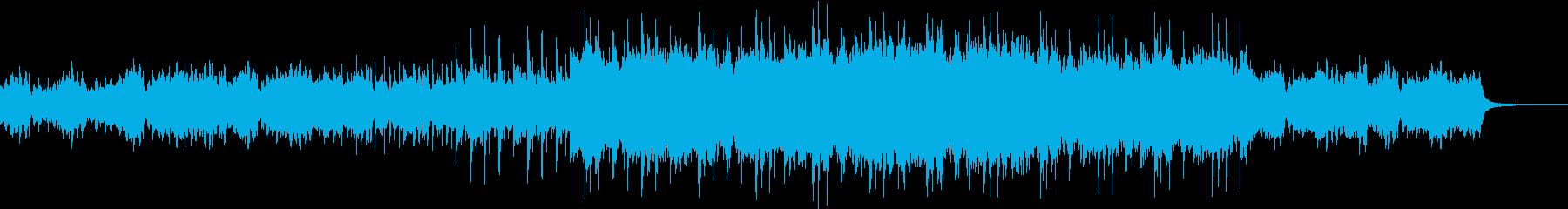 しっとりとしたオーケストラの再生済みの波形