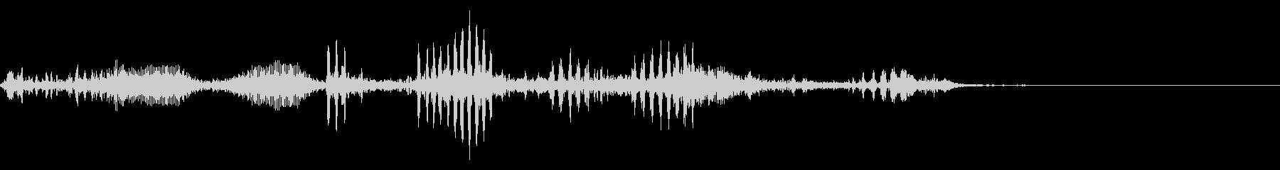 【生録音】フラミンゴの鳴き声 18の未再生の波形