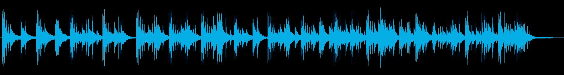 企業VP CM 癒しのピアノ8の再生済みの波形