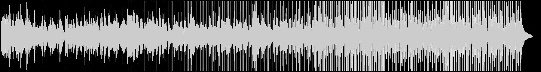 しっとりとしたピアノのカントリーバラードの未再生の波形