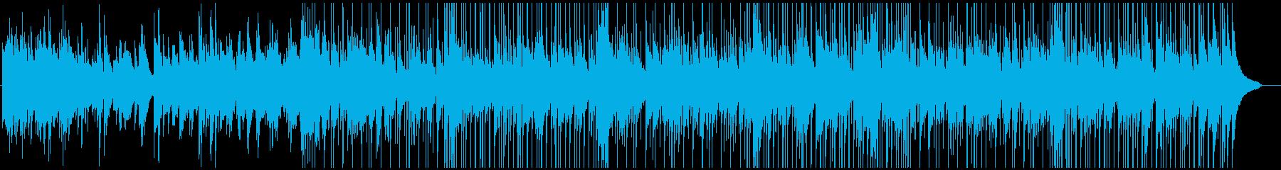 しっとりとしたピアノのカントリーバラードの再生済みの波形