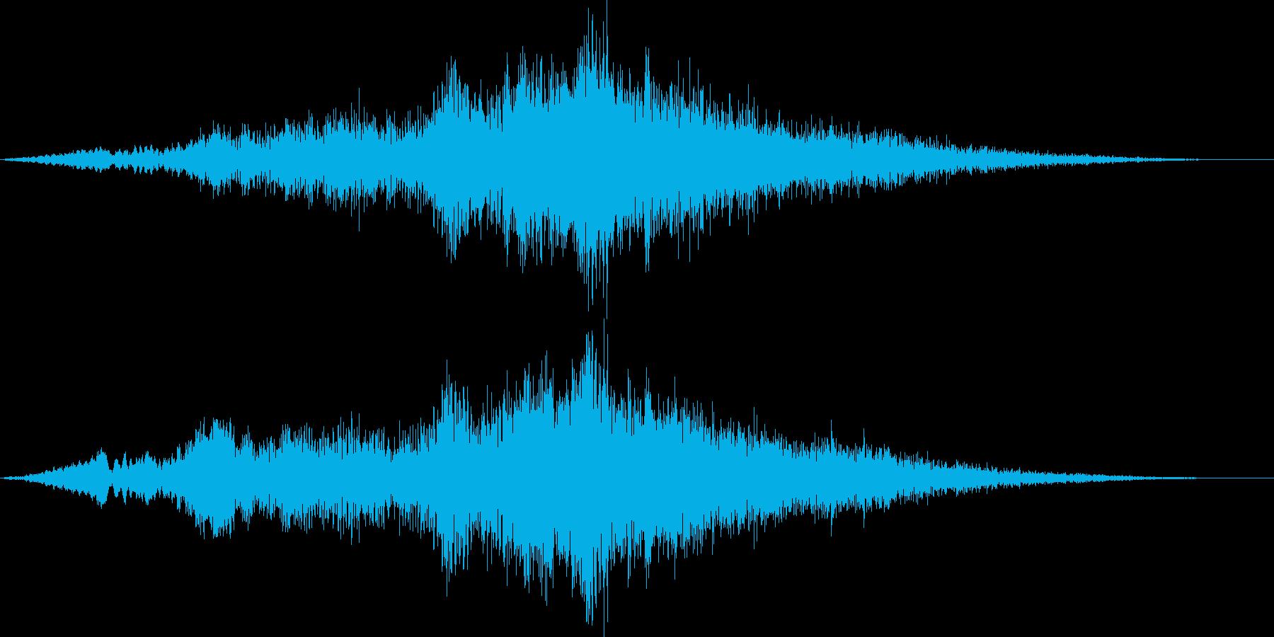【ホラー】 シーン 03 不穏の再生済みの波形