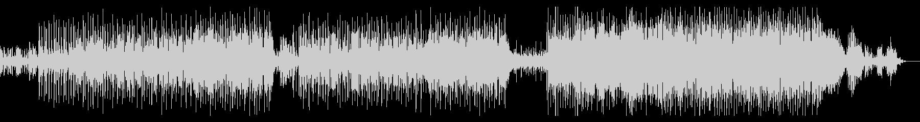 ピアノが軽快な優しいバラードの未再生の波形