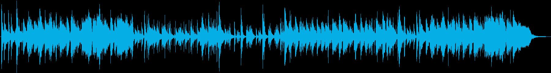 アンニュイなボサノバの再生済みの波形