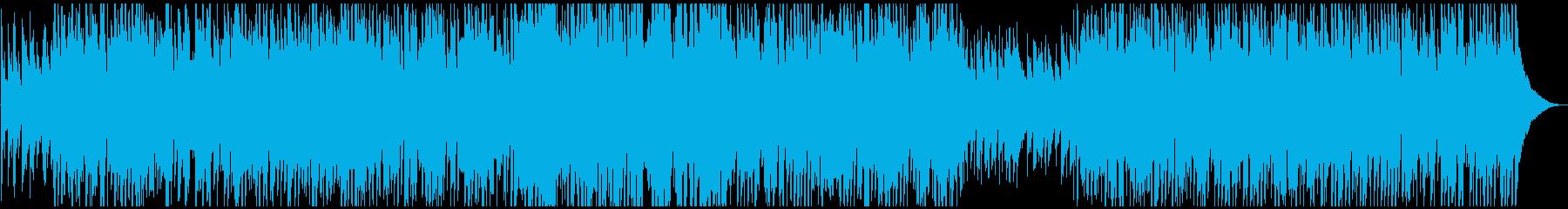 ジャズアレンジのクリスマスクラシックの再生済みの波形