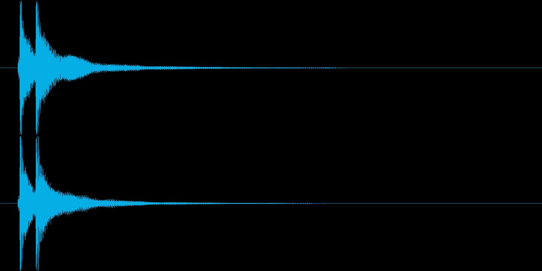 ベンベン (三味線)の再生済みの波形