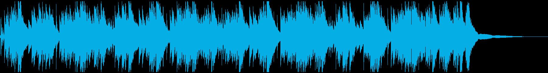切ないメロディのピアノのソロの再生済みの波形