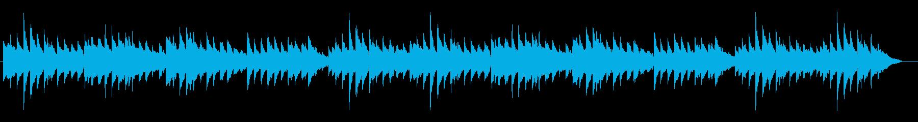 【童謡】こいのぼり ピアノソロ・伴奏の再生済みの波形