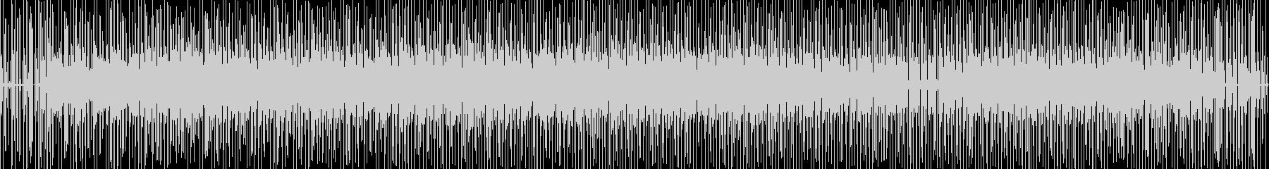 ローズエレピによるアシッドジャズの未再生の波形