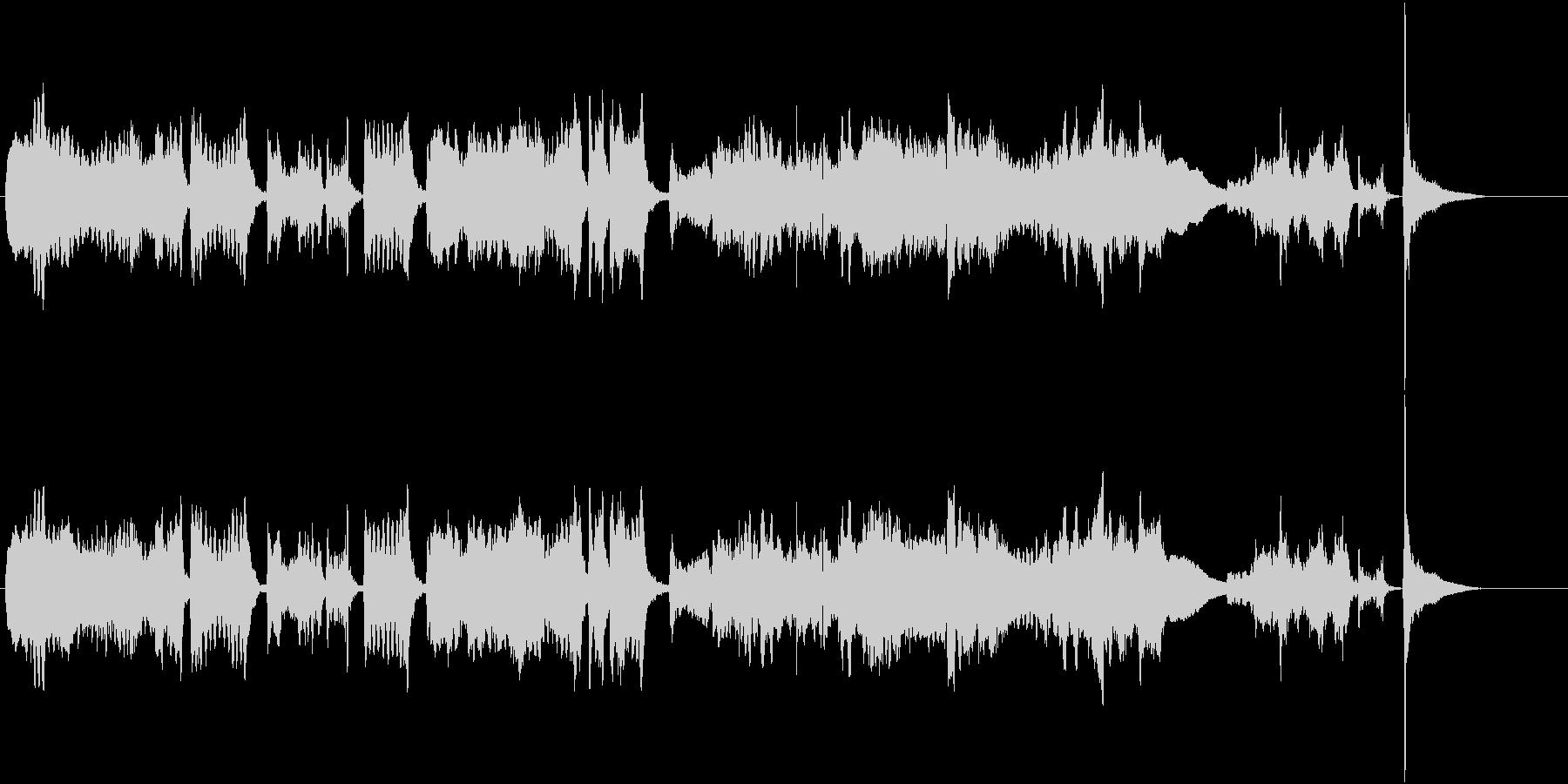 ツィゴイネルワイゼン冒頭/生演奏Vn独奏の未再生の波形