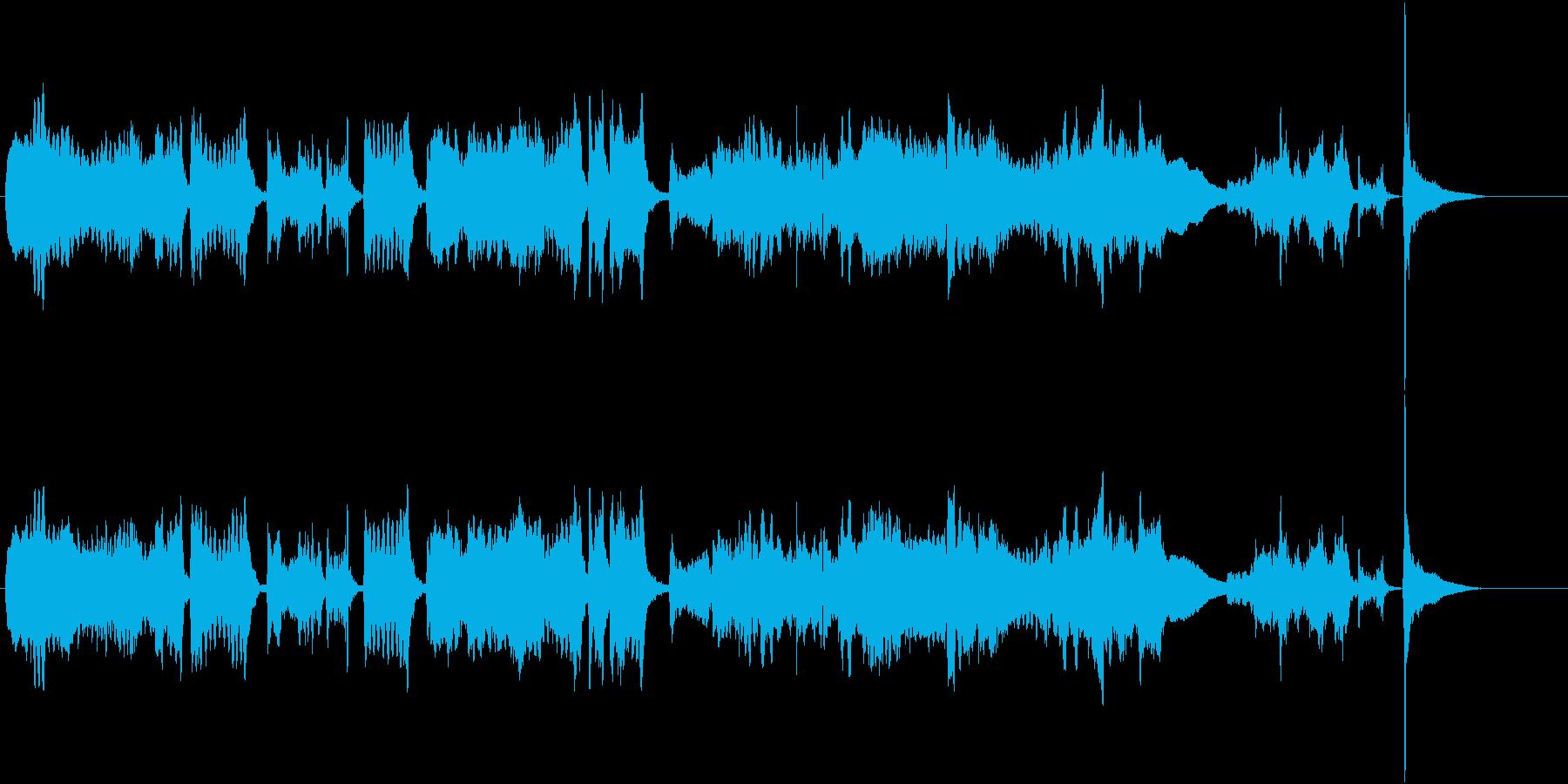 ツィゴイネルワイゼン冒頭/生演奏Vn独奏の再生済みの波形