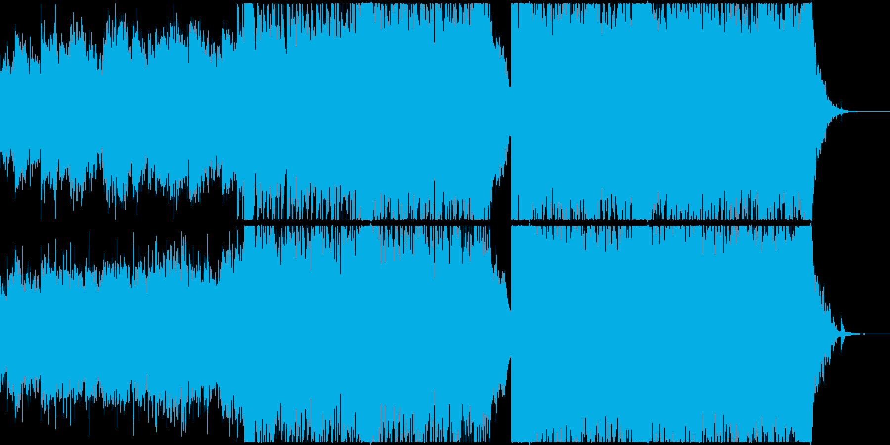 感動的なクラシックの再生済みの波形