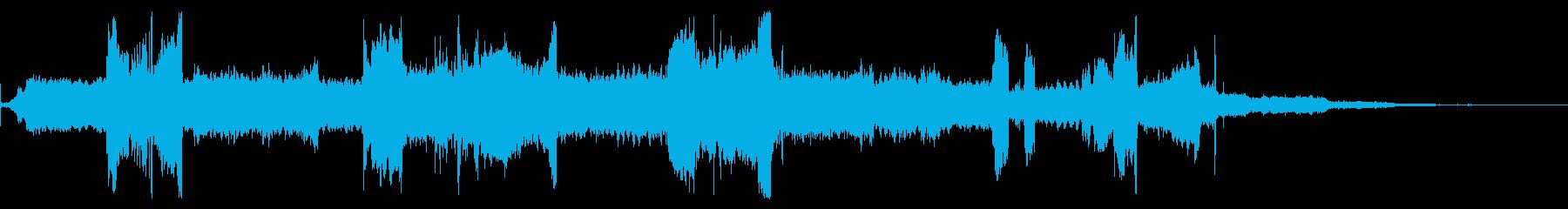 大型電気ジューサー:起動、さまざま...の再生済みの波形