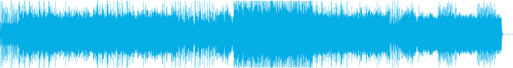 DnBビートで突き進むロックなバトル曲の再生済みの波形