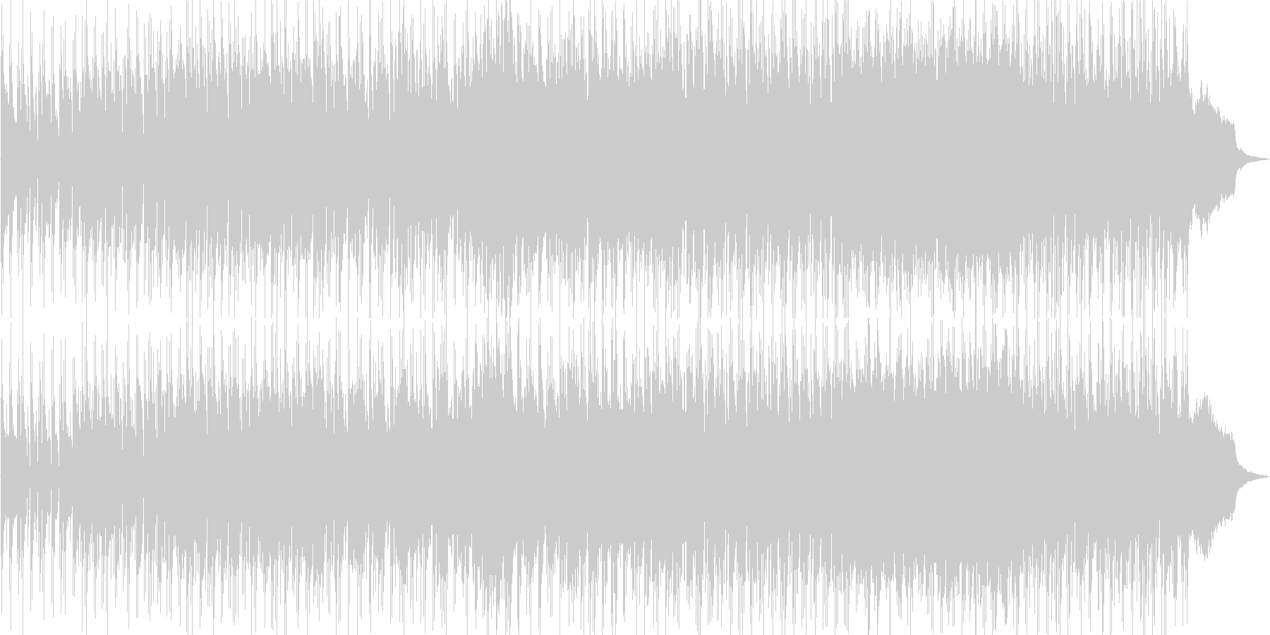ドラムがリズミカルでおしゃれなオリジナルの未再生の波形
