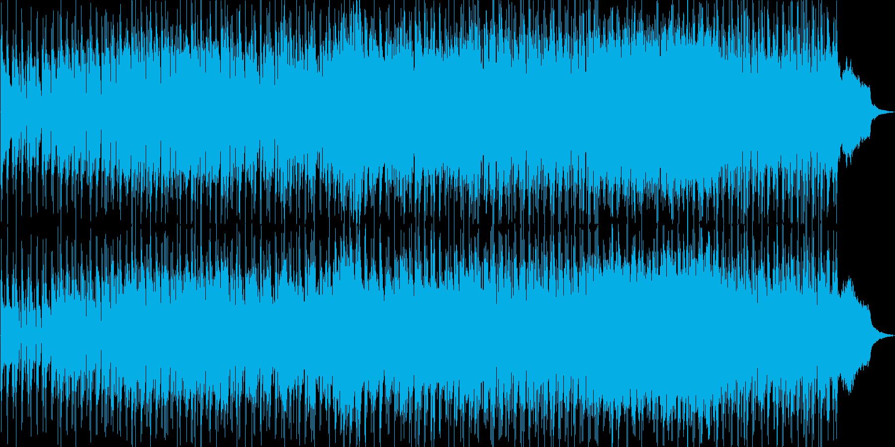 ドラムがリズミカルでおしゃれなオリジナルの再生済みの波形