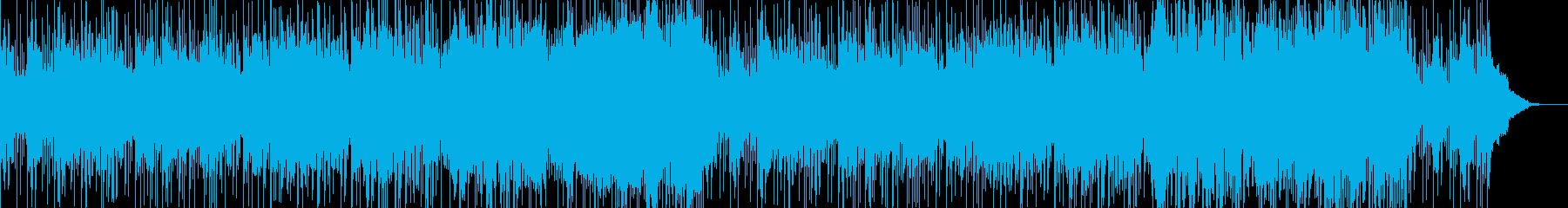 雪合戦の風景のイメージの再生済みの波形