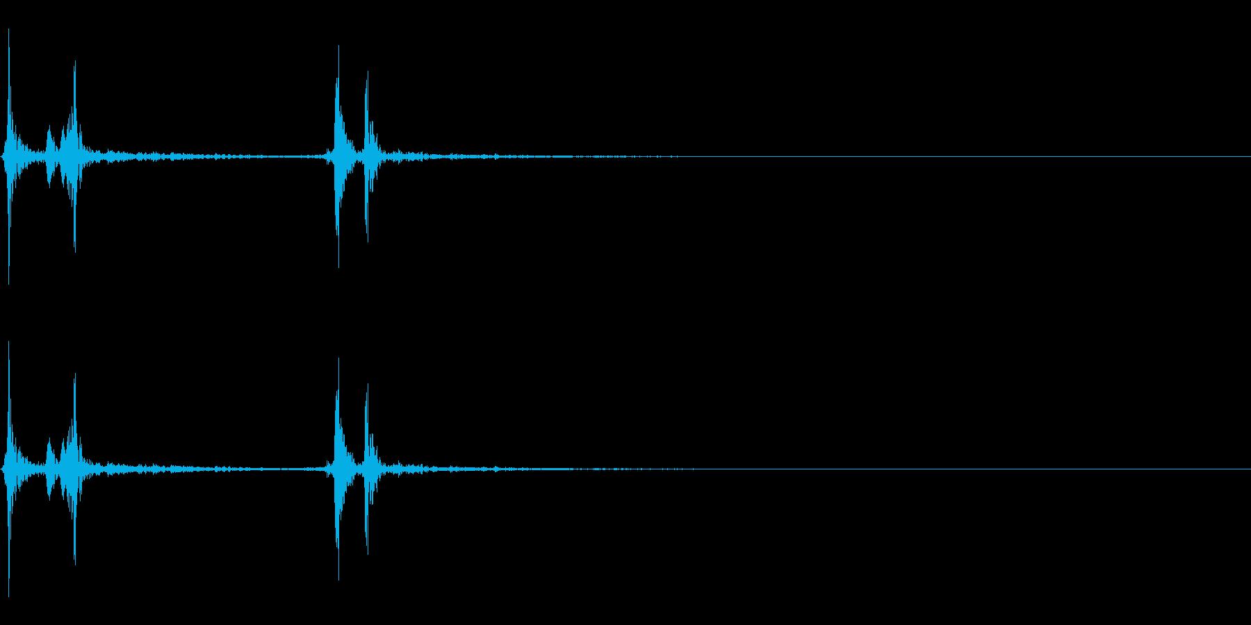 決定・選択/文房具 /カチッの再生済みの波形