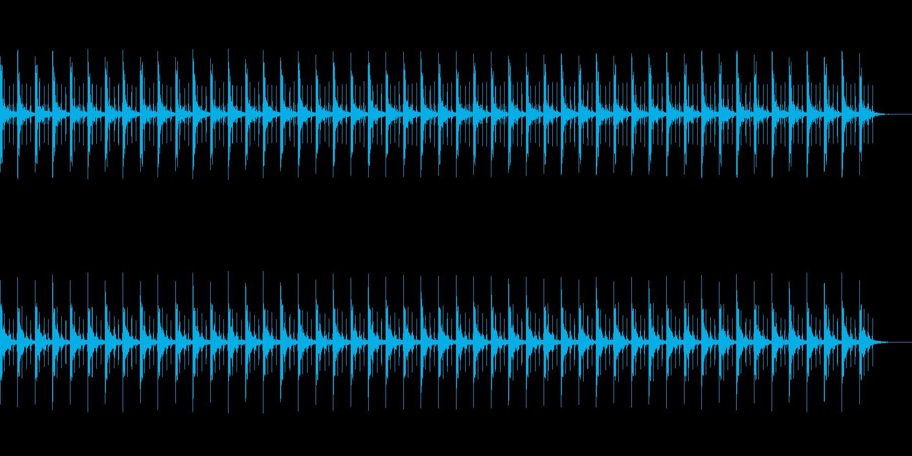 ピッピ+秒針 カウント50秒の再生済みの波形