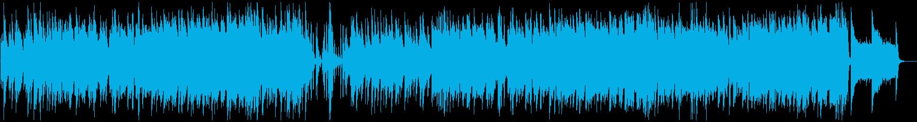 クリスマスの定番、もろびとこぞりてジャズの再生済みの波形