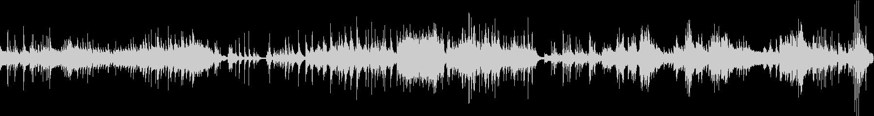 ドキュメントのような無機質即興ピア曲の未再生の波形