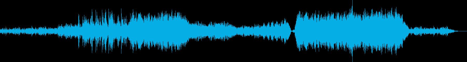 弦楽器の掛け合いがあるバラード調BGMの再生済みの波形
