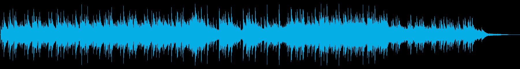 旅情 のんびり 琴の和風BGMの再生済みの波形