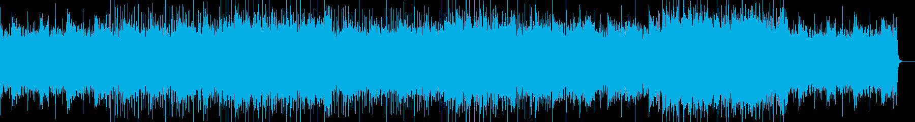 ゆったりとしたイージーリスニングの再生済みの波形