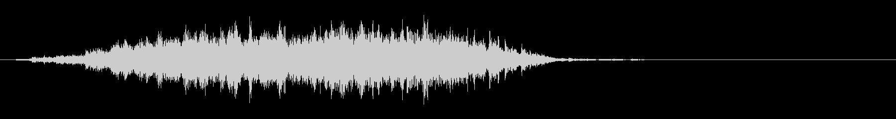 "Phrase sound 2 of the heavy bell sound ""Ekiro""'s unreproduced waveform"