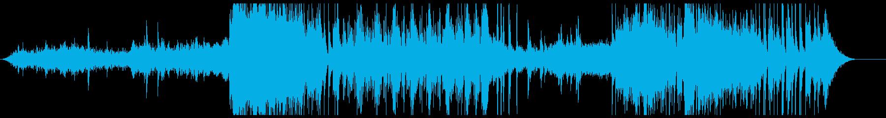 不気味で緊張感のあるオーケストラサウンドの再生済みの波形