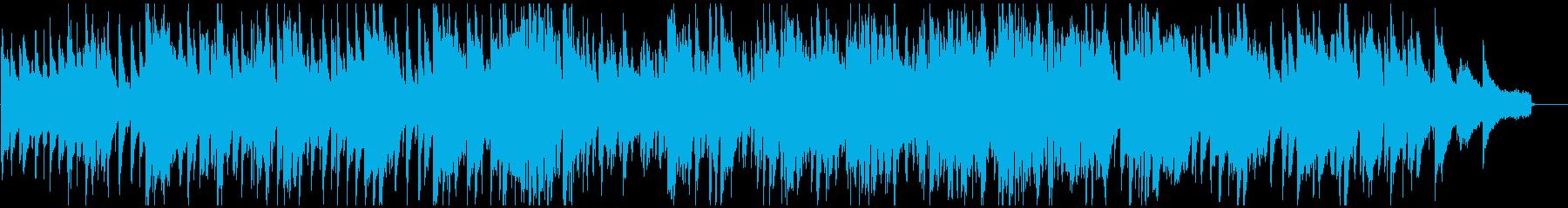 スパイ映画的なハードボイルド・ジャズの再生済みの波形