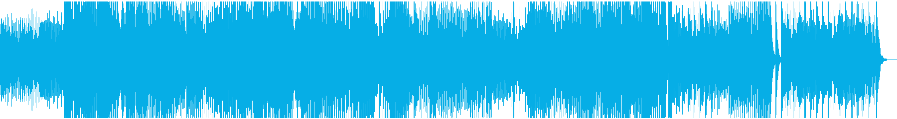 チェンバロの再生済みの波形