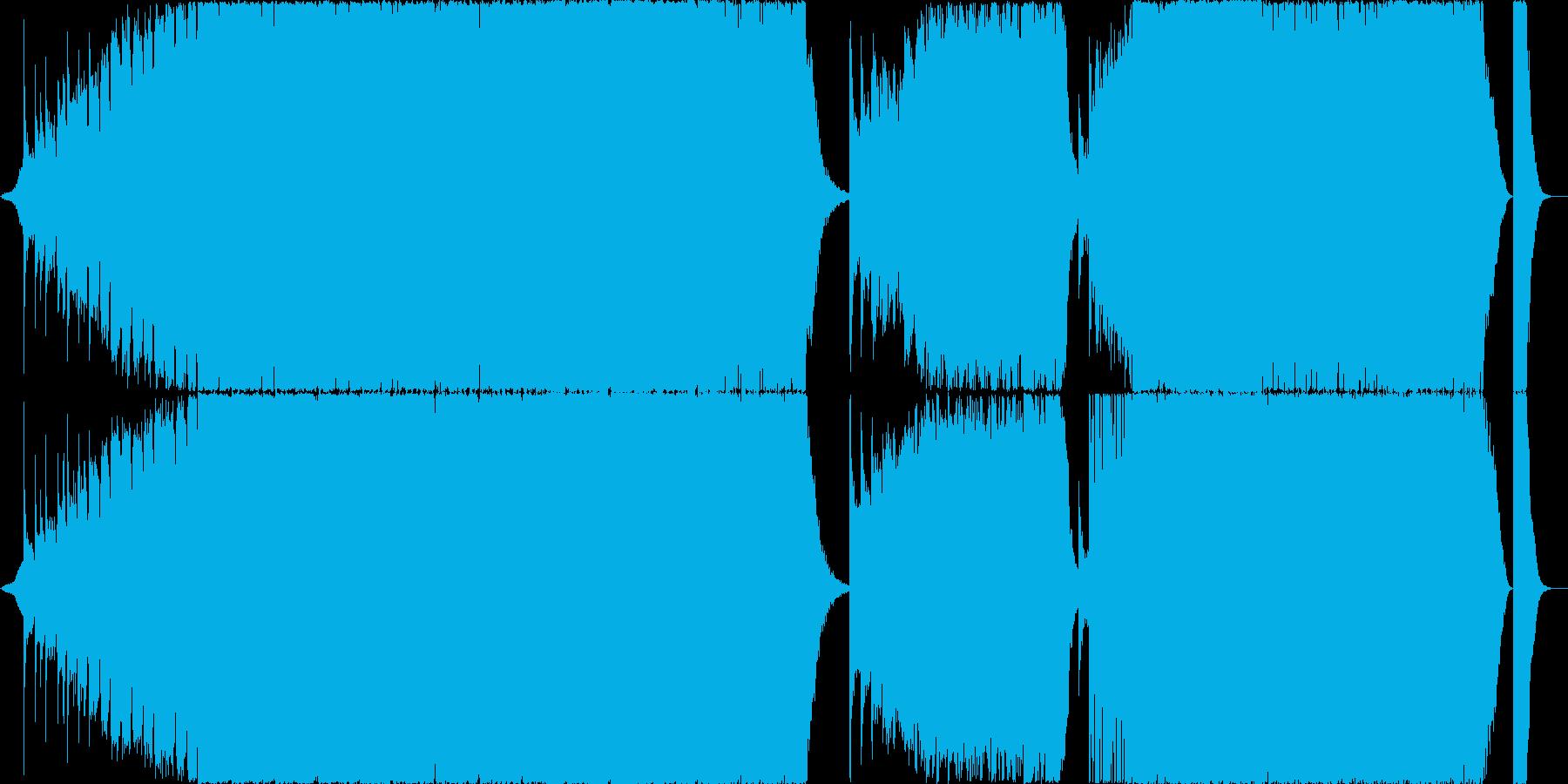コーラス有パワフルエピックから冒険音楽への再生済みの波形
